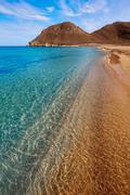Almeria Cabo de Gata Playazo Rodalquilar beach - stock photo