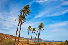 Almeria Cabo de Gata Playazo Rodalquilar beach Stock Photos