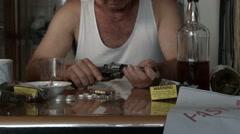 Suicide depression drug addiction mental health disorder Stock Footage