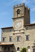 town Hall in Cortona, Italy - stock photo