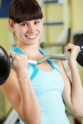 Weightlifting - stock photo