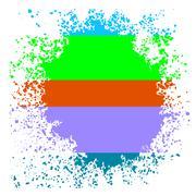 Colorful Blot - stock illustration