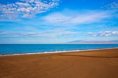 Almeria Cabo de Gata San Miguel beach Spain - stock photo