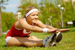 Outdoor fitness Stock Photos