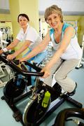 Active fitness - stock photo