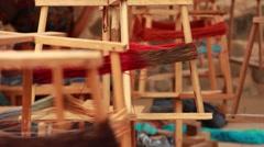 Spinning Thread in Threadshop Stock Footage