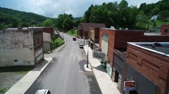 Typical Main Street Small Town America  Stock Footage