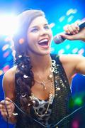 Karaoke - stock photo