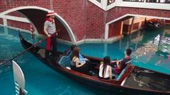 Macao, China: Venice Resort - stock footage