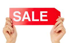 Stock Photo of Seasonal sale