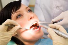 Healing teeth Stock Photos