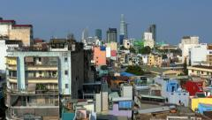 Ho Chi Minh City (Saigon) Skyline Stock Footage