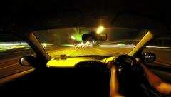 3 in 1 - Loop able Time lapse Driving on the road multi-HD - stock footage