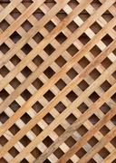 Design of wood wall panel plank cross background Stock Photos