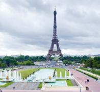 Effel Tower at day Stock Photos