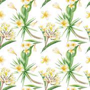 Tropical Pattern - stock illustration