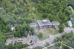 Museum-Estate Sheremetiev Ostankino (Moscow) - stock photo