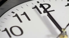 clock on the wall - stock footage