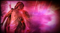 Pink Angel 1080  background Stock Footage