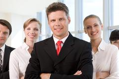 Successful associates Stock Photos