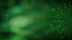 Green Radiance 1080  background Stock Footage