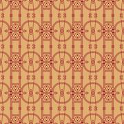 Easy seamless geometric  pattern, modern graphic repeating desig Piirros