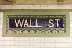 Wall Street Subway Station, New York City Kuvituskuvat