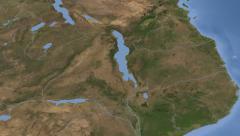 Malawi on maps - Do It Yourself as you like. Neighbourhood Stock Footage
