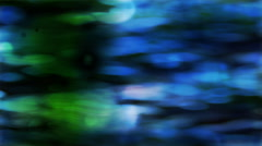 Blue and Green Subtle - stock footage