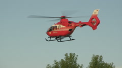 Rescue Helicopter 1 Stock Footage