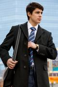 Before business appointment - stock photo