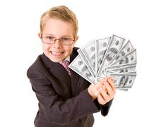 Stock Photo of Wealthy boy