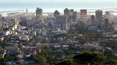 South Africa Cape Town Western Cape Financial District - stock footage