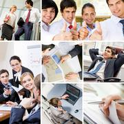 Business on the move Stock Photos