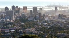 South Africa Cape Town Western Cape Financial District Stock Footage