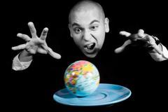 Earth rush Stock Photos