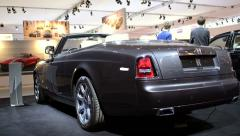 Rolls Royce Phantom Drophead Coupe Stock Footage