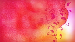 Lacy Heart Valentine 1080  background Stock Footage