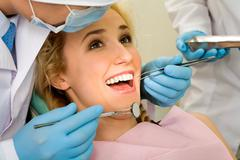 Teeth cure - stock photo