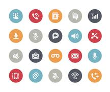 Stock Illustration of Web and Mobile Icons 1 -- Classics Series