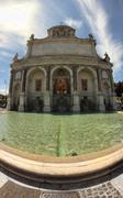 Aqua Paola Fountain - stock photo