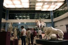 Capitoline Museum in Rome - stock photo