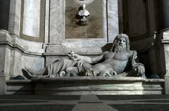 Marphurius fountain in Rome Stock Photos