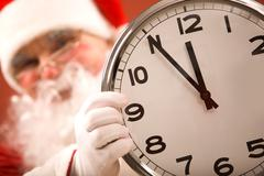 Five minutes to Christmas - stock photo