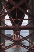 Architectural detail of Golden Gate Bridge Kuvituskuvat