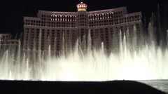 Bellagio Fountain Grand Finale - stock footage