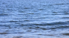 Wave-covered water surface Stock Footage