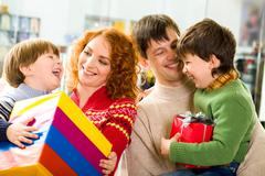 Parental care Stock Photos