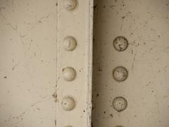 Painted rivets Stock Photos