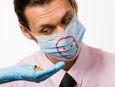 Pig flu remedy - stock photo